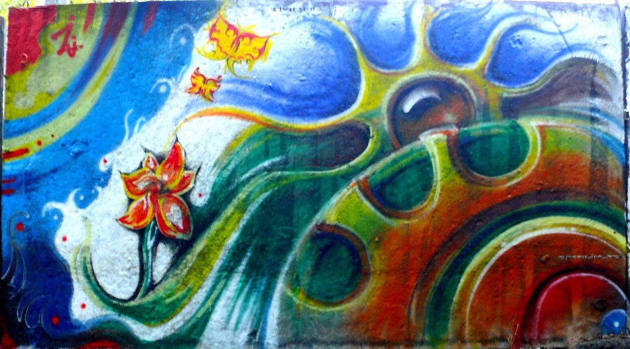 """""""очень...""""; граффити для конкурса в г. Донецк"""