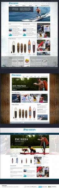 Дизайн сайта Pau Hana