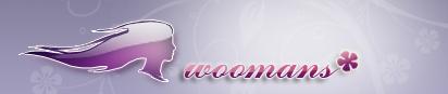 логотип для сайта woomans.com
