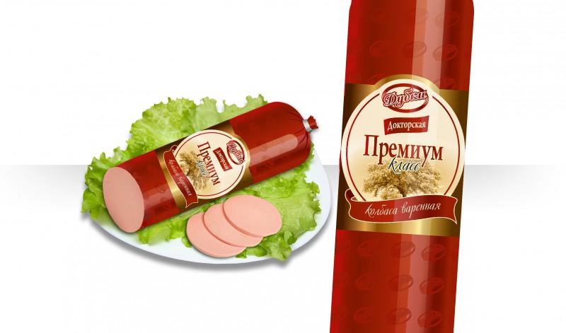 Дизайн этикетки колбасы