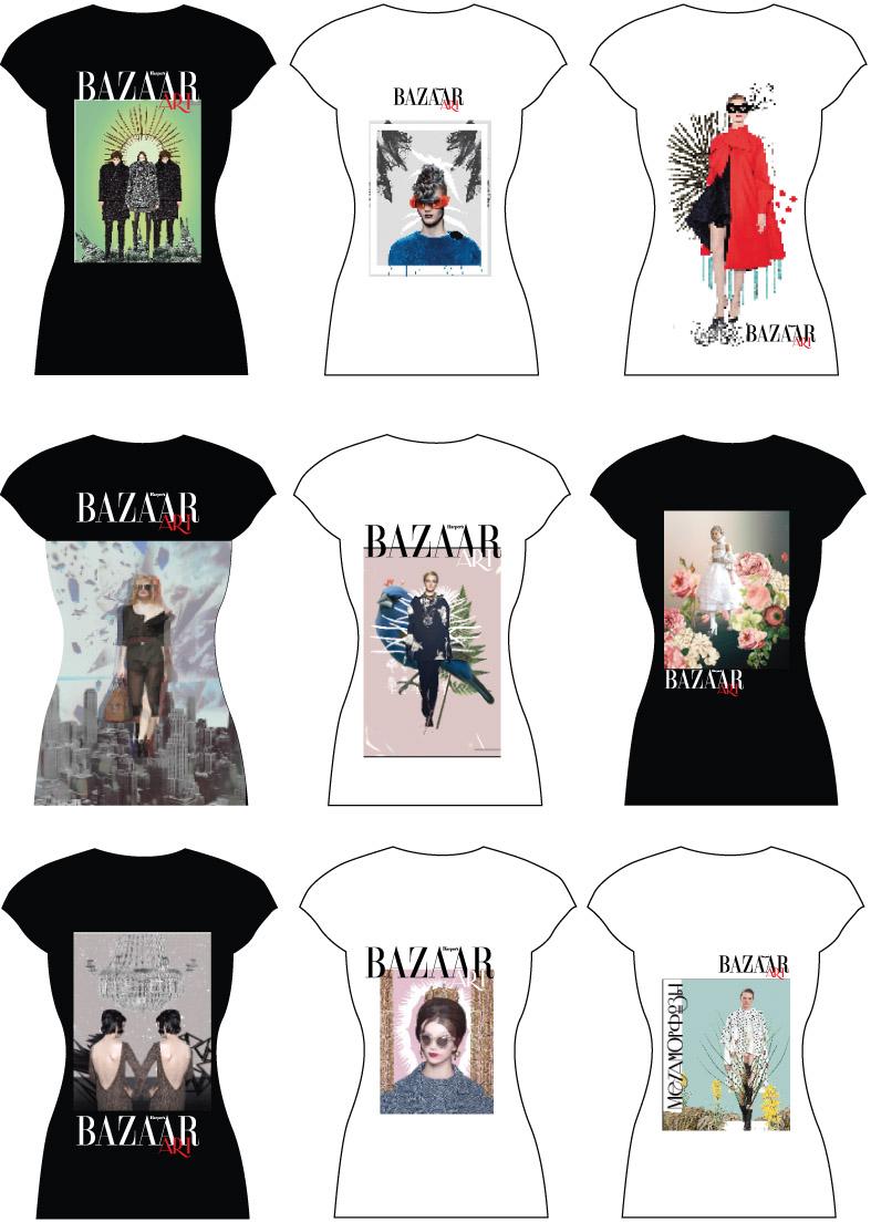 футболки Harper's Bazaar