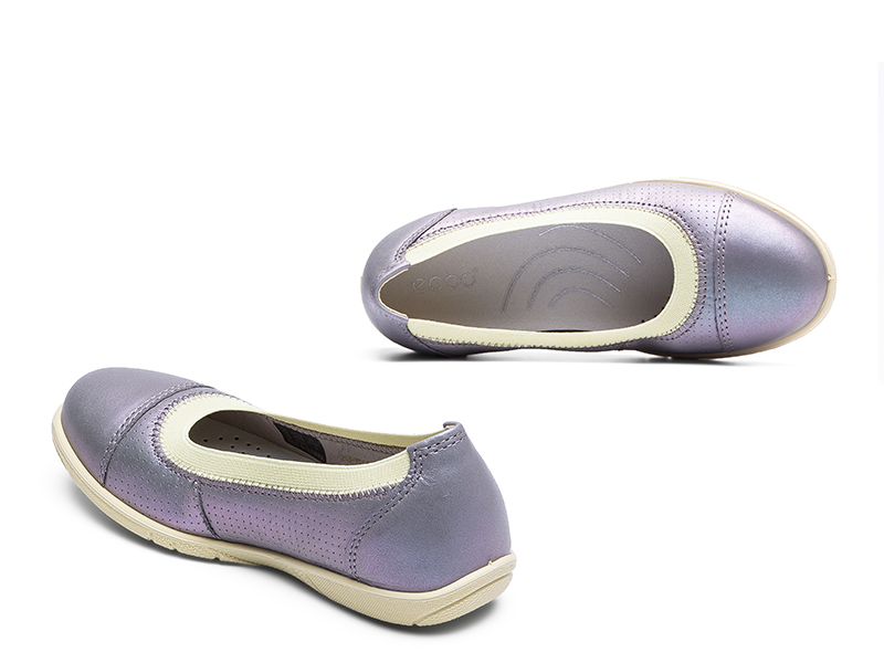 Обтравка и ретушь обуви Ecco