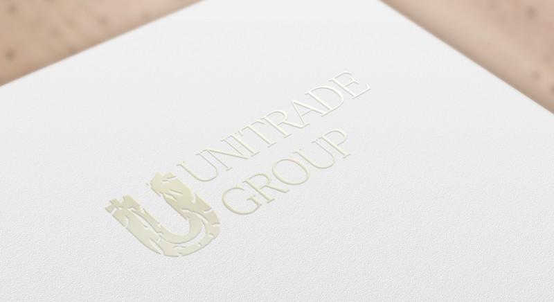 Концеп логотипа Юнитрейд Групп