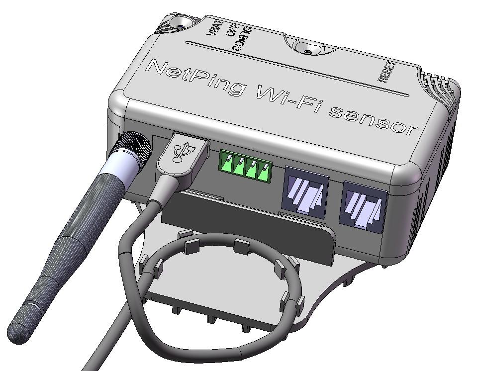 Модель электронного узла