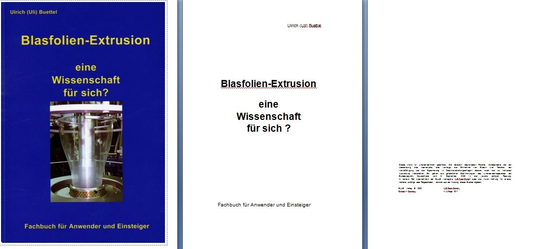Перевод книги по экструзии полимерных пленок  с немецкого