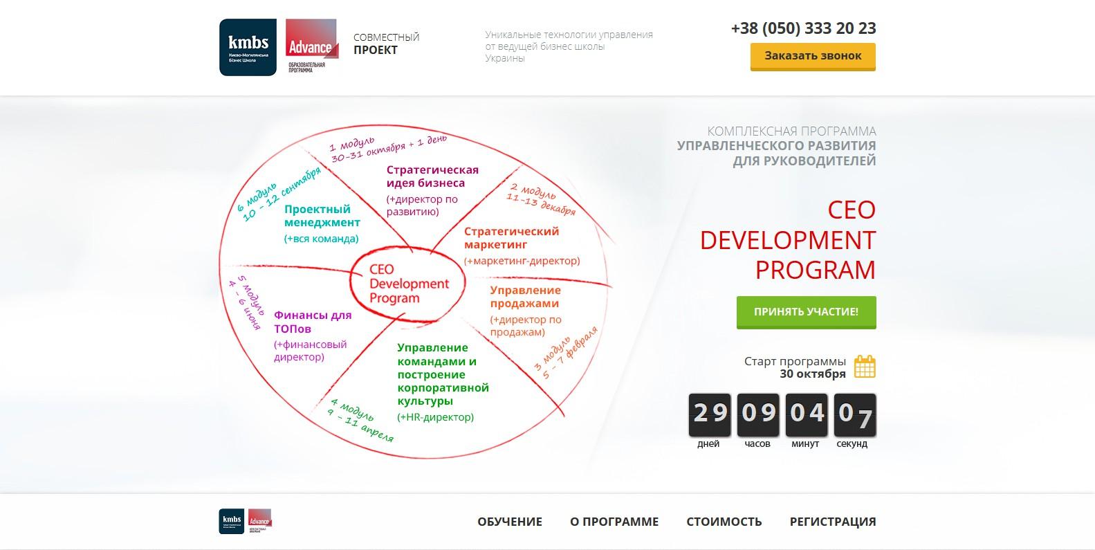 CEO Development Program (kmbs)