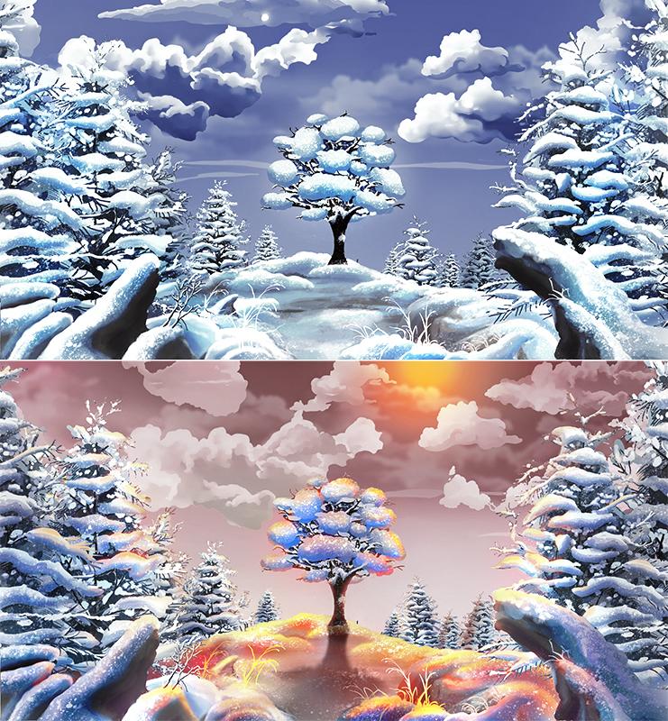 Иллюстрация для анимации