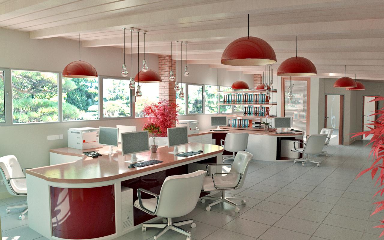 Дизайн интерьера офисного помещения