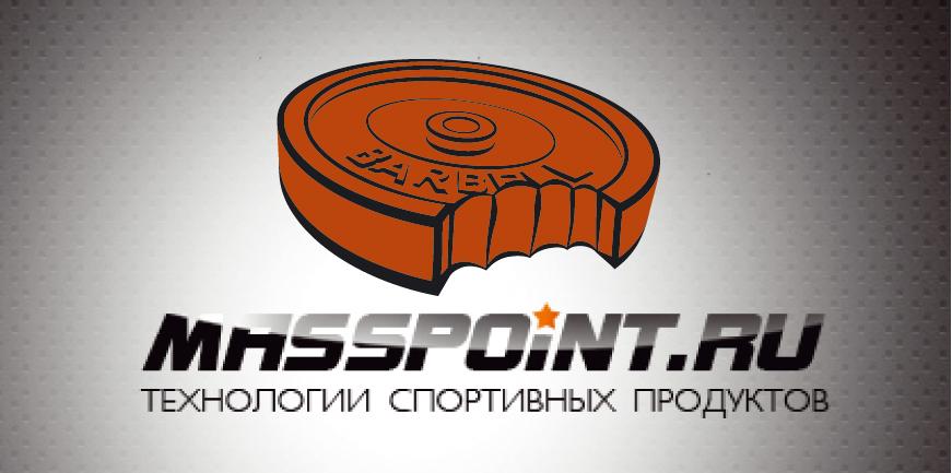 """Лого Masspoint """"Штанга"""""""