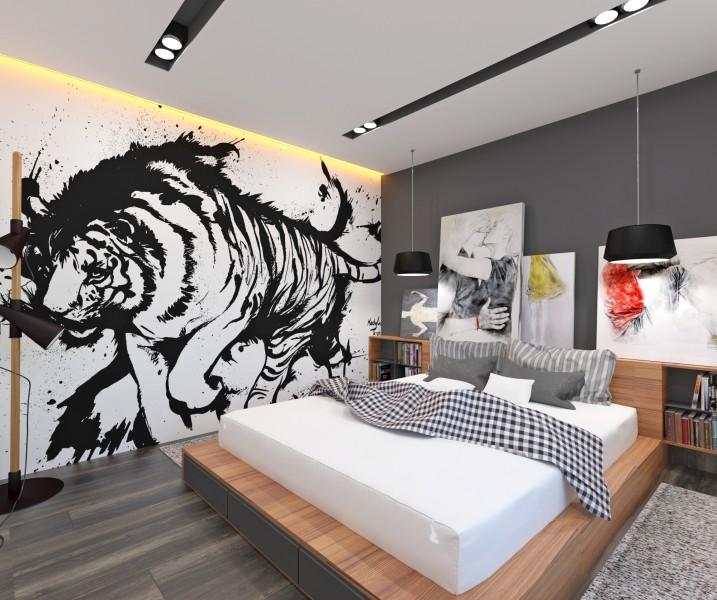 Спальня экстремала