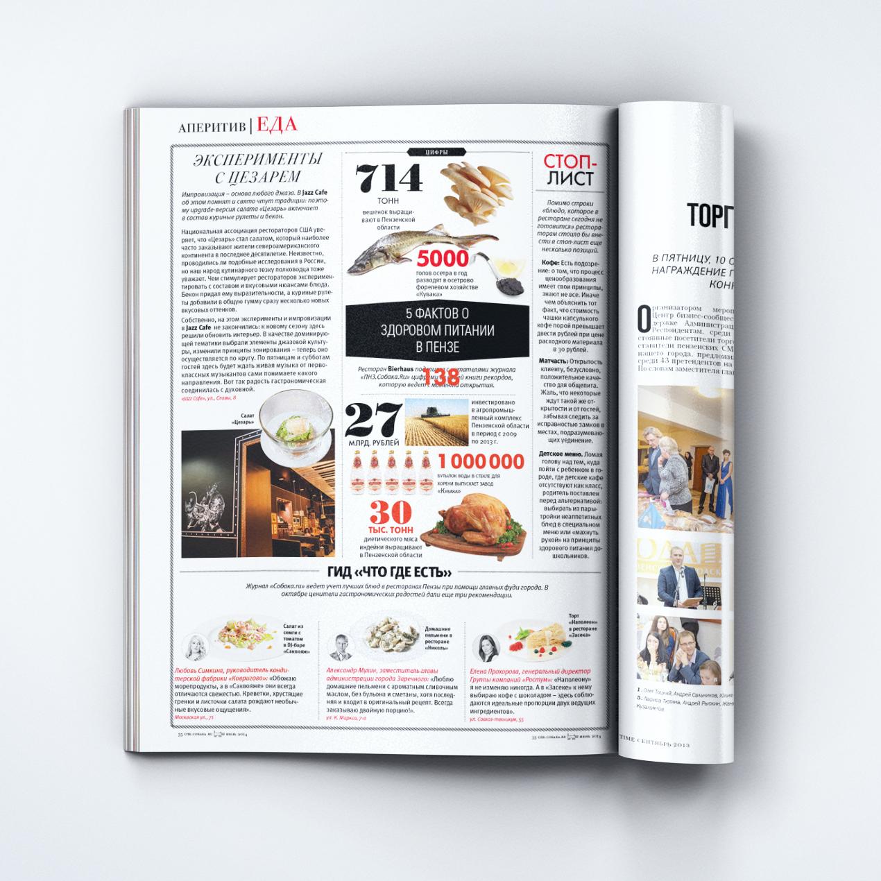 Рекламные материалы, журнал «Дорогое удовольствие»