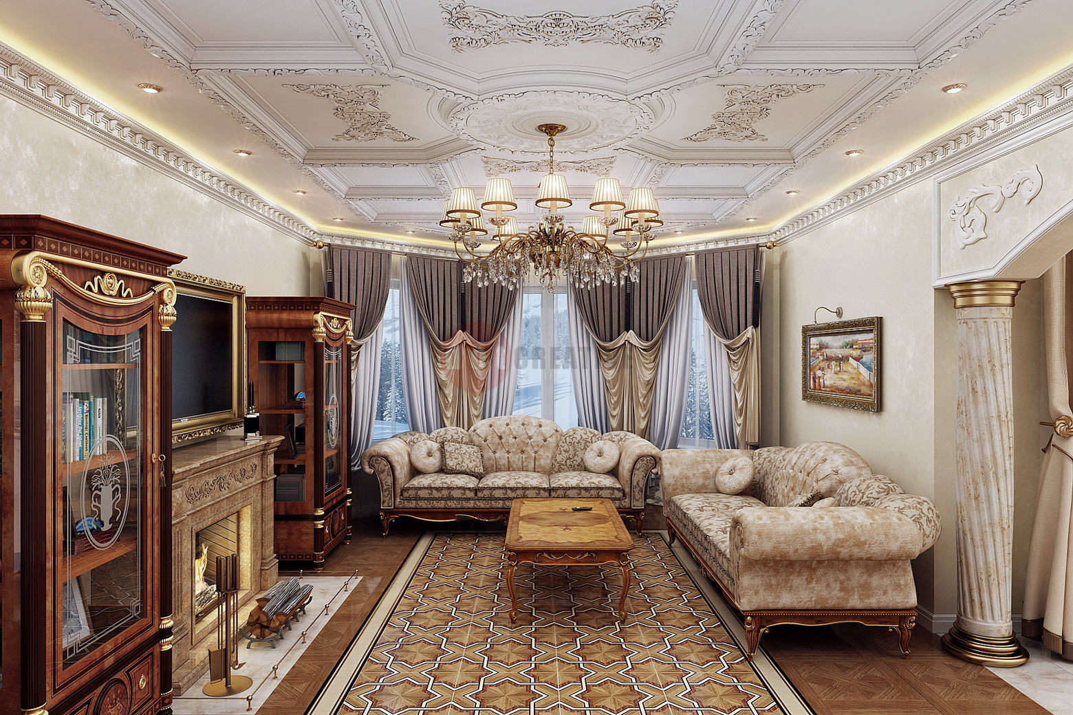 гостиная соф