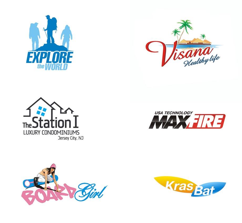 Логотипы создаю с 2004 года