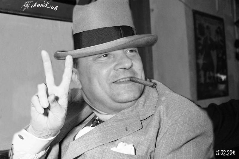 Черчиль в пельменной на Маркина С-Пб