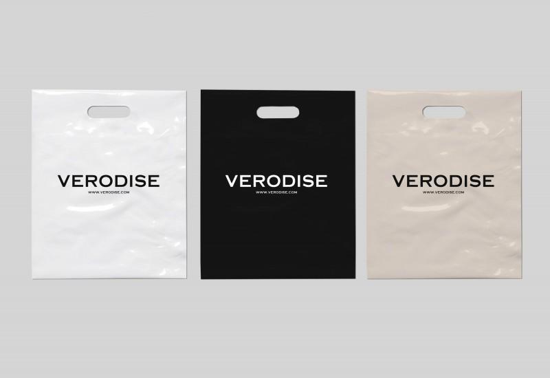 """Логотип и брендирование для бренда одежды """"VERODISE"""" г. Москва"""
