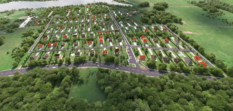 Коттеджный поселок в Ярославле.