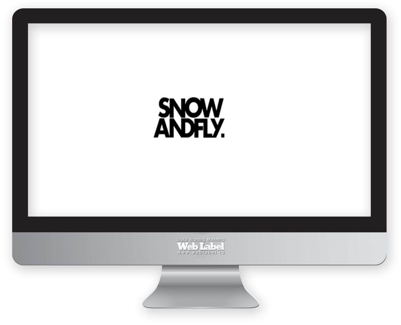 Логотип для www.snow-fly.ru