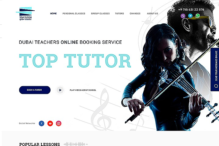 Dubai teachers online booking service