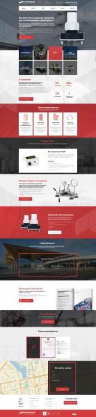 Разработка сайта для производителя Инклинометров