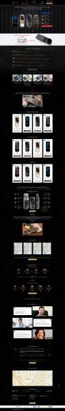 Лендинг по продаже телефонов nokia 8800
