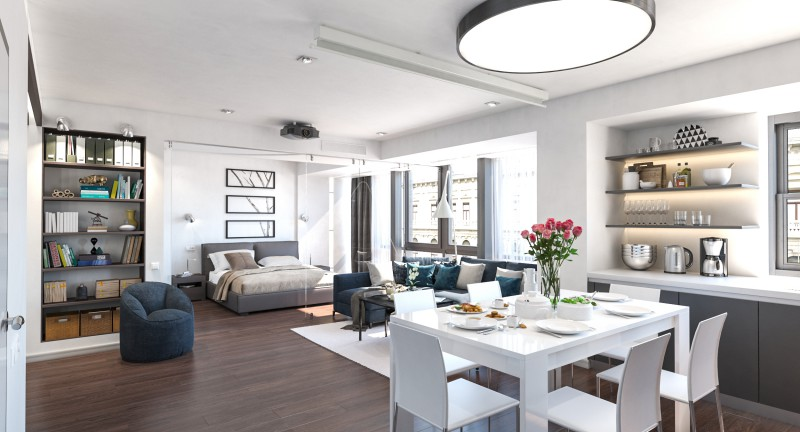Дизайн квартиры 60кв. м.
