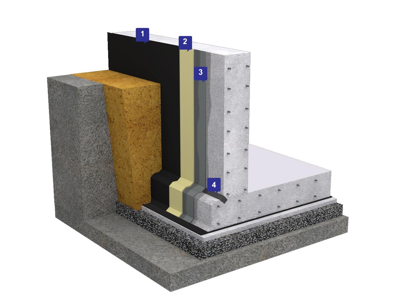 Стена изоляция