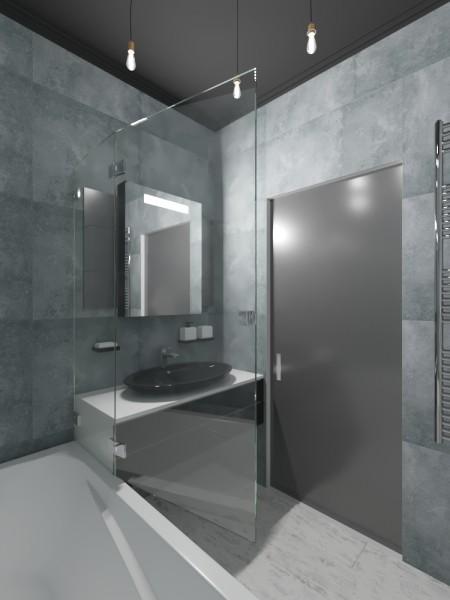 Дизайн квартиры для молодой семьи в стиле лофт