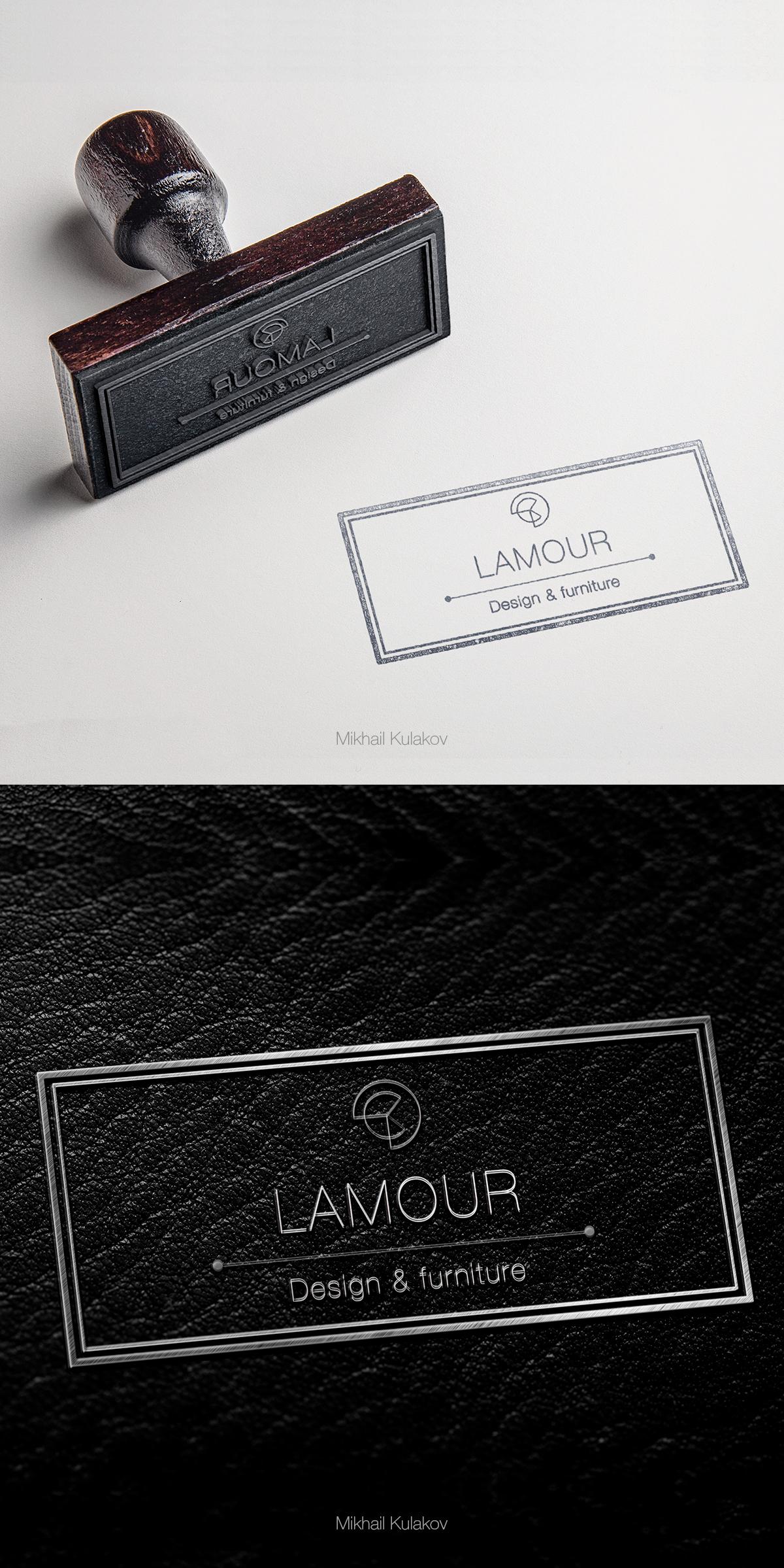"""Логотип """"Lamour design"""""""