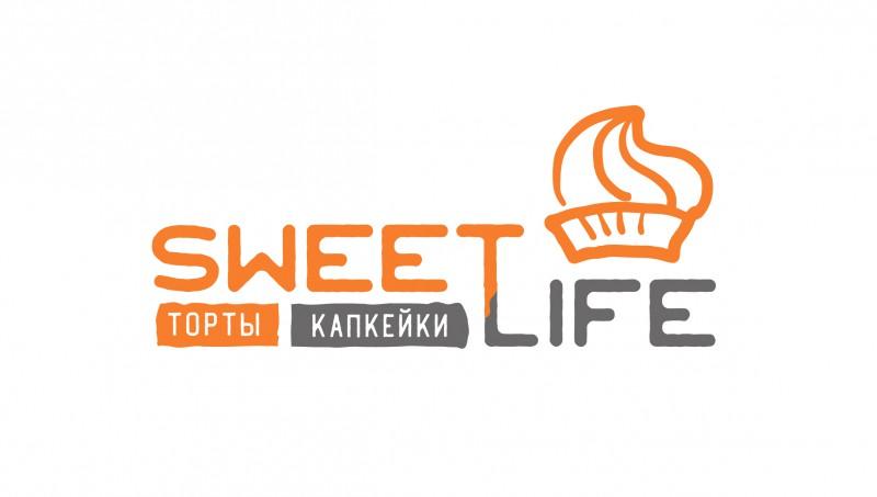 """Логотип для кондитерской """"Sweet life"""""""
