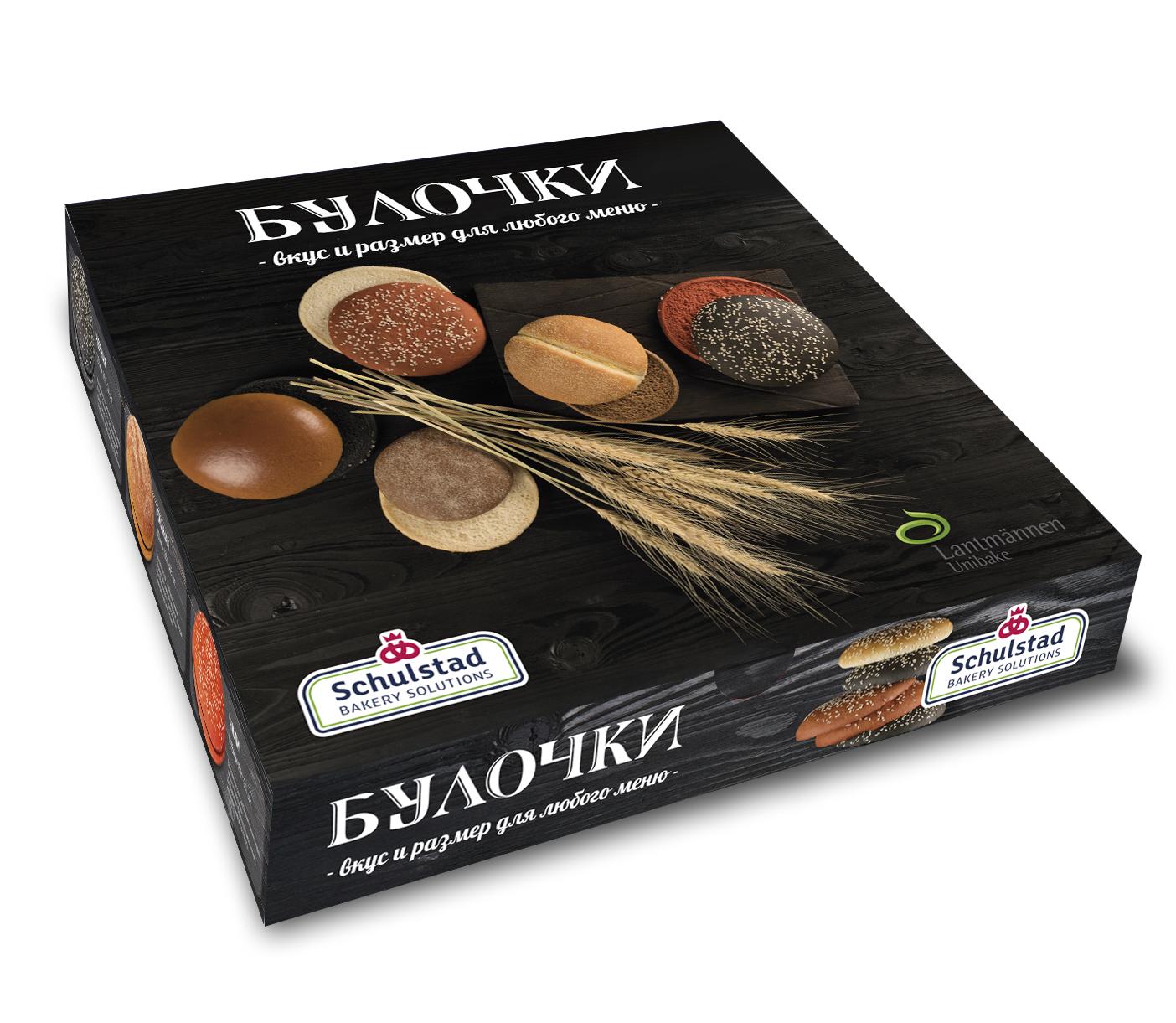 Дизайн упаковки для булочек. Компания Лантманнен Юнибэйк