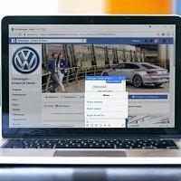 Чат-бот для холдинга Атлант-М (Volkswagen). Чат-бот для Facebook