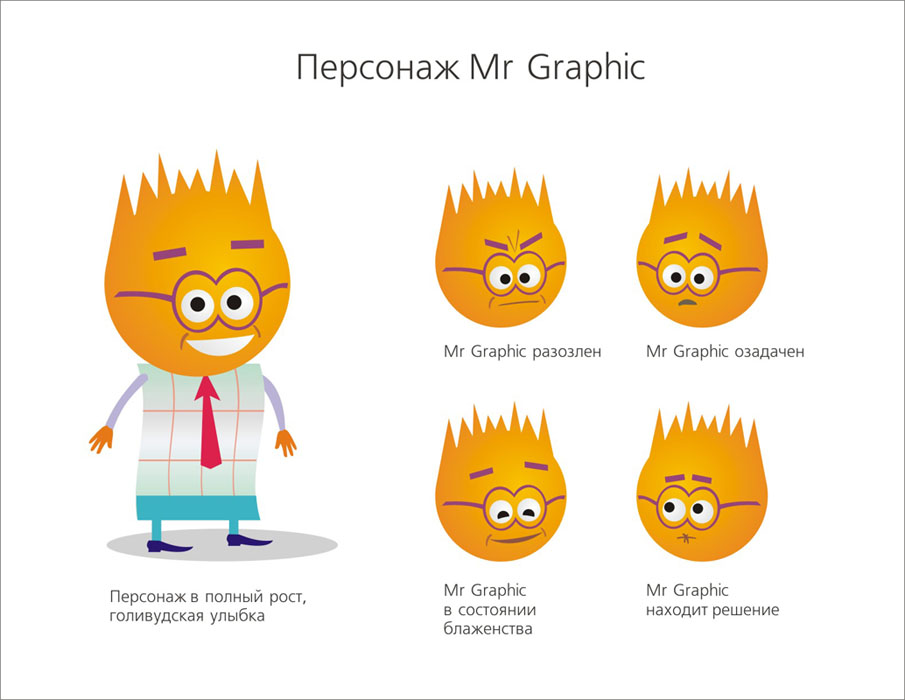 Персонаж Мистер График (аналитика)