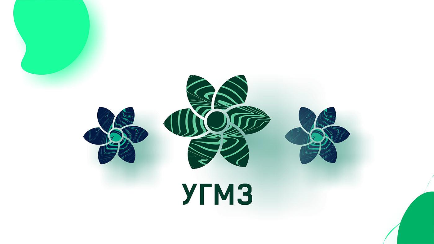 Малахитовый логотип