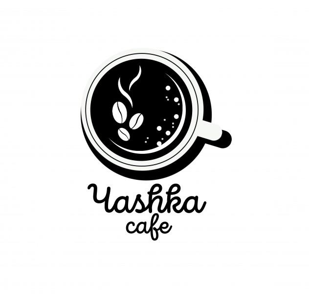 Создание логотип для кафе Чashka