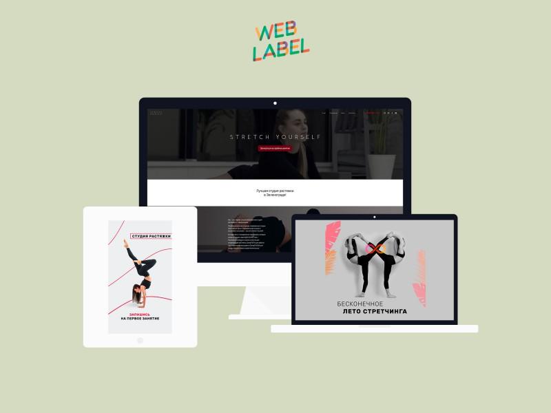 Вирусный маркетинг в Интернете для студии растяжки