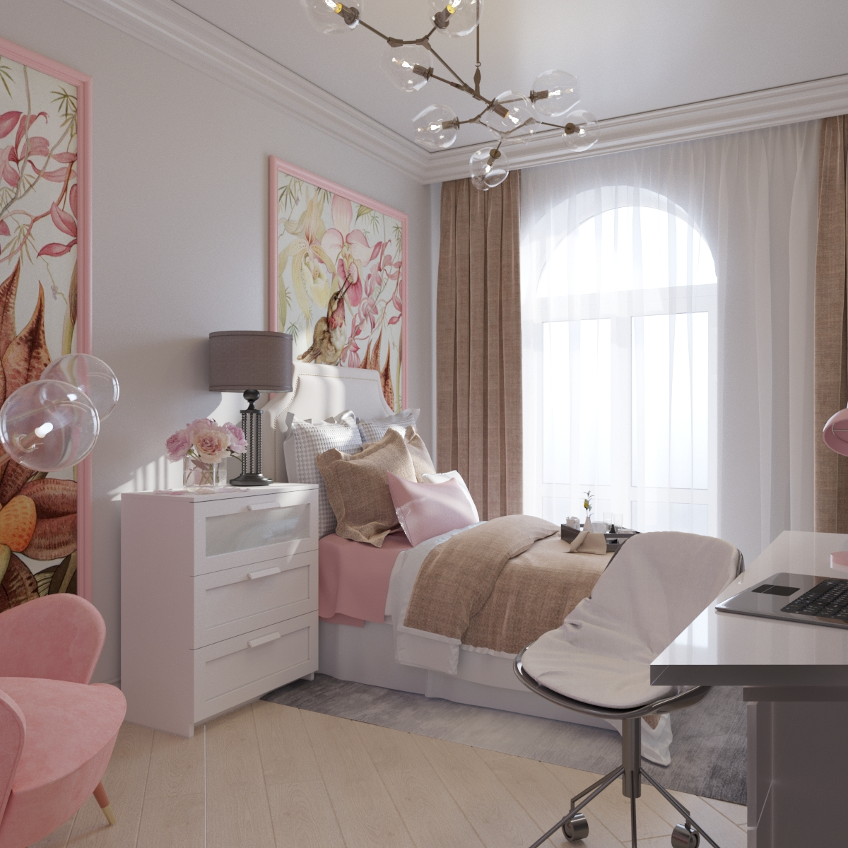 3х комнатная квартира (Современная классика)