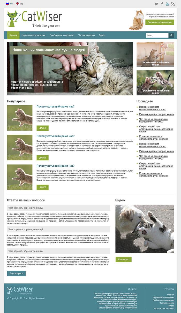 Портал о кошках