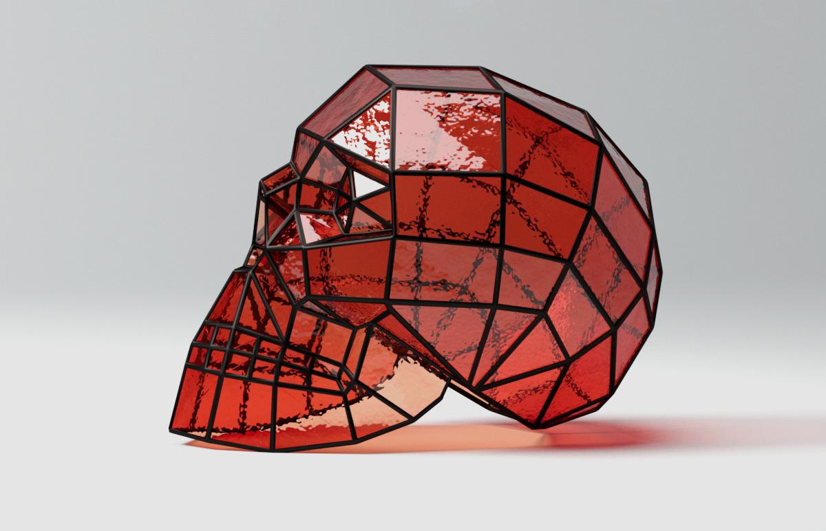 Моделирование черепа