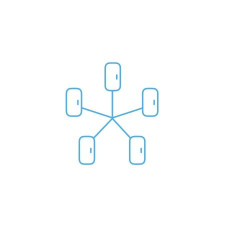 анимация иконки для систем контрол доступа