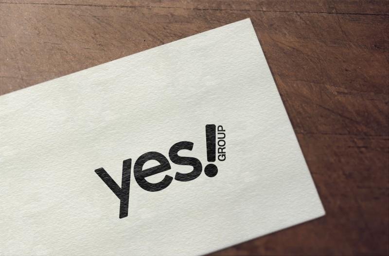 Логотип YES group + логотипы компаний, входящих в этот холдинг