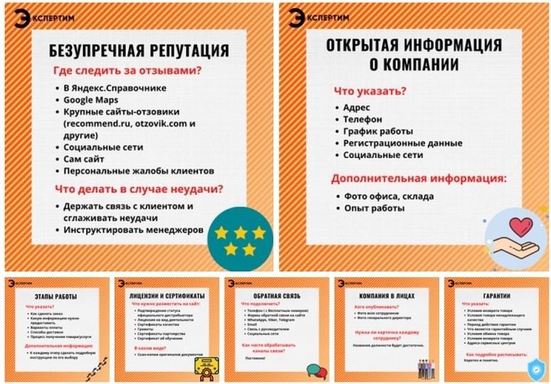Инфографика для социальной сети