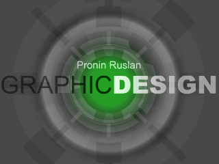 Сайт Pronin Ruslan Graphicdesign