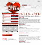 промо-сайт Drum&Bass 2