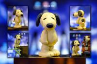 Snoopy из пластелина