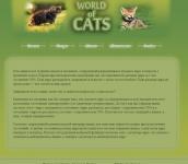 """Дизайн и верстка """"WorldCat"""""""