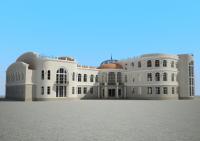 Моделирование дома культуры
