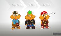 Разработка персонажа Суши-Хома в 3х стилях