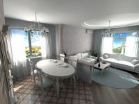 Визуализация гостиной/ моделирование мебели
