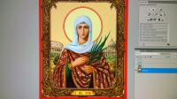 Графическая реставрация икон для производства и печати