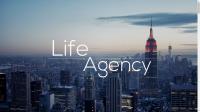 Сайт event-агентства Life-agency